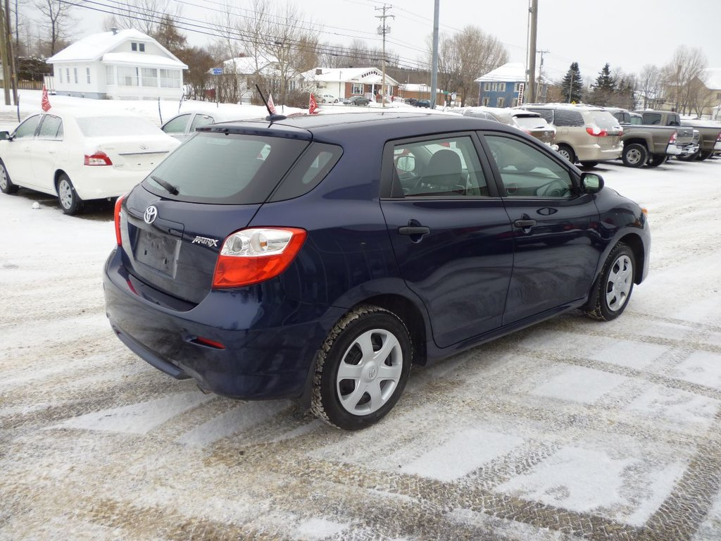 used 2010 toyota matrix to sale for 10 in caplan used inventory toyota baie des chaleurs in. Black Bedroom Furniture Sets. Home Design Ideas