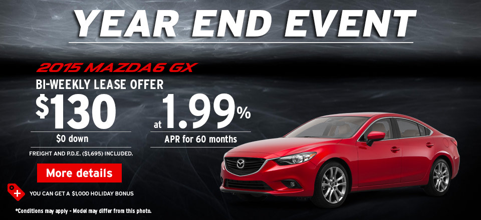 2014-12 year end event - mazda 6