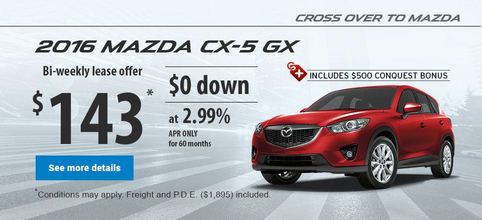 Cross over to mazda - 2015 mazda CX-5