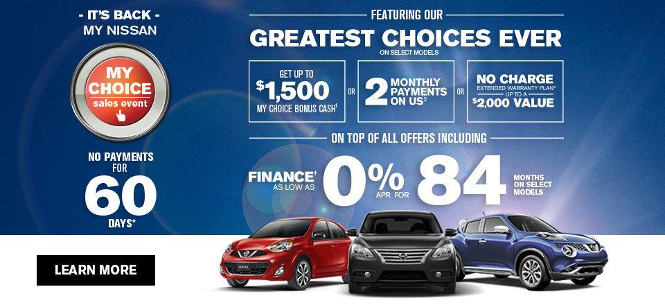 My Nissan my choice