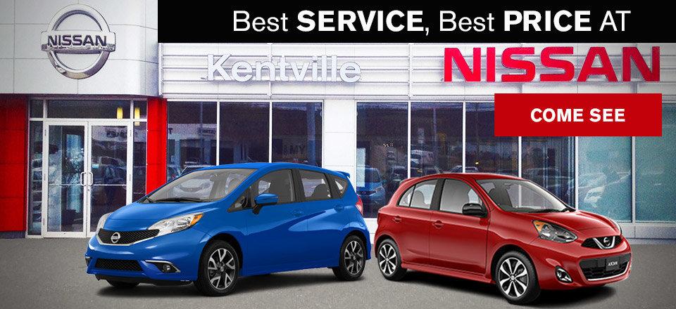 Kentville Nissan storefront