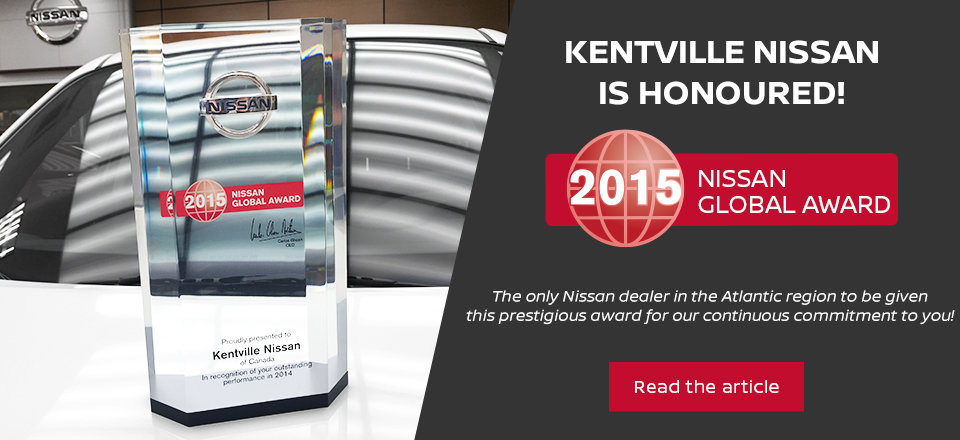 2015 Nissan Award
