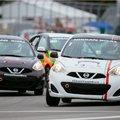 La Coupe Nissan Micra dans le feu de l'action cet automne