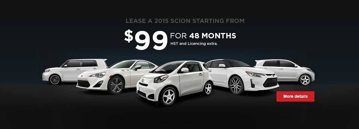 Scion offer - May