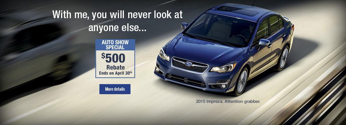 Ottawa Auto Show Special at Ogilvie Subaru