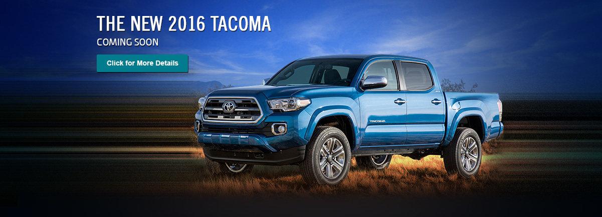 The New 2016 Tacoma