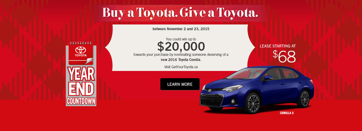 Buy A Toyota Event