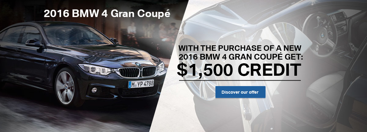 2016 BMW 4 Gran Coupes