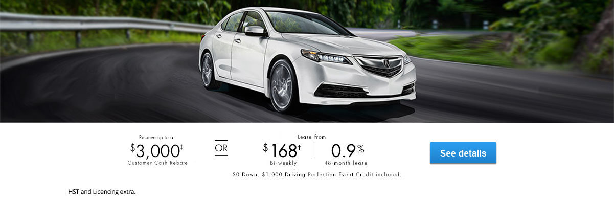 Driving Perfection Promo April Event