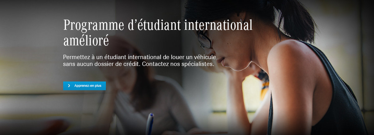 Programme étudiant international amélioré