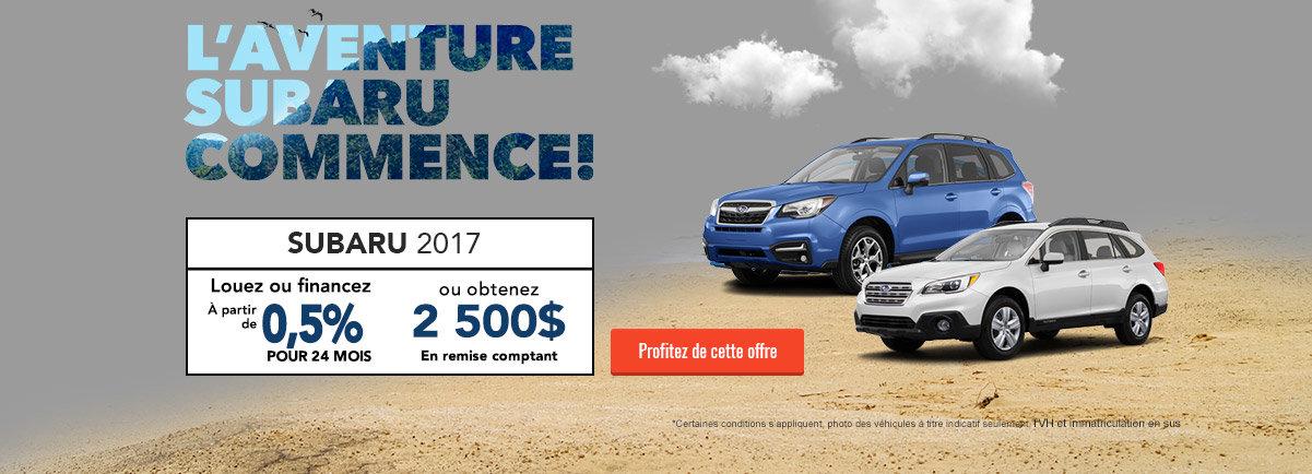 Evenement Subaru - Aout