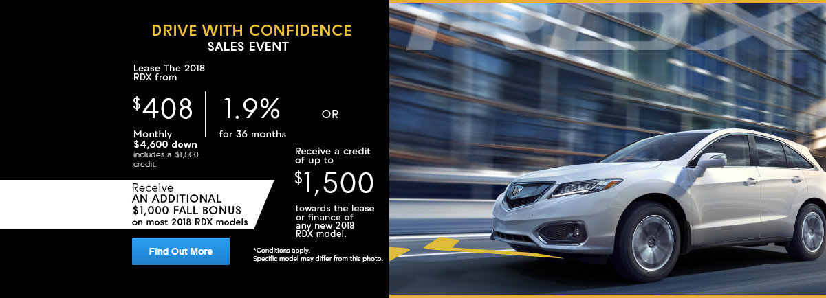 Drive with confidence RDX