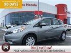 2014 Nissan Versa HATCHBACK,BACK UP CAMERA LOTS OF MANUFACTURERS WARRANTY ,JUST LIKE NEW