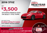 Save on the All-New 2016 Nissan 370Z!
