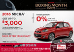 Get the 2016 Micra Today!