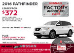 Get the 2016 Nissan Pathfinder Now!