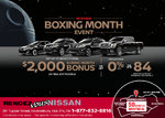 Boxing Month Event!