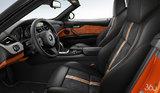 Black/Orange Extended Alcantara/Leather