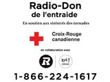 Radio-Don de l'entraide campaign