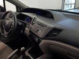 Honda Civic Cpe 2012 LX coupé, régulateur, bluetooth