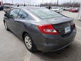 Honda Civic Cpe 2012 69600KM CLIMATISEUR GARANTIE PROLONGé 160000KM