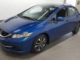 Honda Civic Sedan 2014 EX, toit ouvrant, caméra recul, clé intelligente