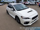 2016 Subaru WRX ,AWD,SPORT TECH,LEATHER,NAVIGATION,SUNROOF,AIR,TILT,CRUISE,PW,PL,LOCAL TRADE,LOW KMS!!!!!