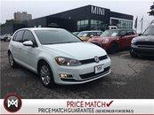 Volkswagen Golf PURE WHITE BACKUP CAMERA WHITE ON BLACK 2015
