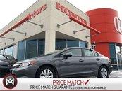 2012 Honda Civic Sdn LX - BLUETOOTH, 6YR-100,000 KMS