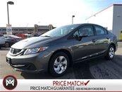 2013 Honda Civic Sdn LX - BLUETOOTH, AIR CONDITIONING, TILT