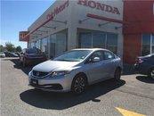 2013 Honda Civic Sdn EX - 4YR/100,000 KMS, SUNROOF, HEATED SEATS