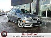 Mercedes-Benz C350 PREMIUM PKG, ENTERTAINMENT PKG, CONVENIENCE PKG, DRIVING ASSISTANCE PKG! 2013