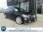 2014 Mercedes-Benz E550 Premium pkg, driving assistance pkg