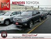 2013 Toyota Highlander SPORT: LEATHER, SUNROOF, HEATED SEATS