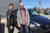 Félicitations M. Michon pour votre nouveau véhicule Mazda CX5