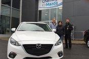 Félicitations M. Gemme pour votre nouvelle Mazda GT