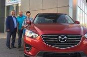 Félicitations Mme Duguay pour votre nouvelle Mazda CX5