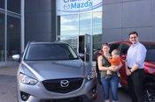 Félicitations à Mme Anabelle Dumas-Chevalier pour sa nouvelle Mazda CX5