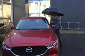 Félicitations M. Godbout pour votre nouvelle Mazda CX5 2017