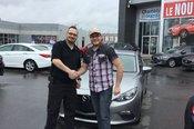 Félicitations  M. Giroux pour l'achat de votre Mazda 3