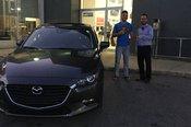 Félicitations Monsieur Tommy Frate pour votre nouvelle Mazda Sport 2017