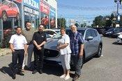 Félicitations M. Léonard pour votre nouvelle Mazda CX5 2017