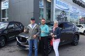 Félicitations Monsieur Cardinal pour votre nouvelle Mazda CX5 2017
