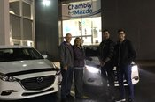 Merci Samuel de la confiance apportée à Chambly Mazda