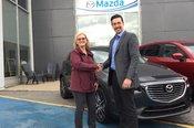 Félicitations Madame Provost pour votre nouvelle CX3 GT2018