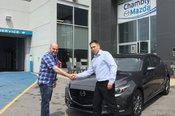 Félicitations M. Rameau pour votre nouvelle Mazda 3 2018