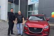 Félicitations à la garderie L'Arbre Enchanteur pour votre nouvelle Mazda 3 2018