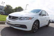 Honda Civic Sedan EX*TOIT*CAMERA*BANCS CHAUFFANTS* 2014