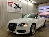 Audi A5 Décapotable Garantie 1 AN/15000KM GMP/CAA INCLUS 2010 Une seule propriétaire