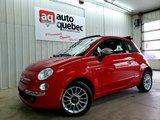 Fiat 500 Décapotable / Cuir / Bas Kilo / Jamais Accidenté 2012 Automatique / Garantie 1 An ou 15 000 km GMP / Inclus